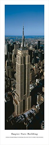 Empire State Building - Blakeway Panoramas Unframed Icon Posters (Unframed Icon)