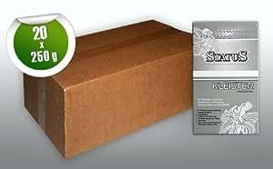 STATUS PROFI Pegamento en polvo para tejido no tejido | engrudo de 5 kg para 700 m2 | cola para 140 rollos (10m x 0,53m)