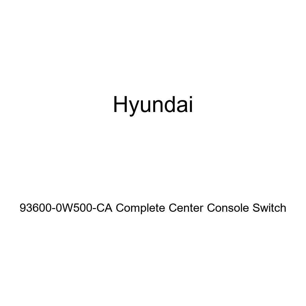 Genuine Hyundai 93600-0W500-CA Complete Center Console Switch