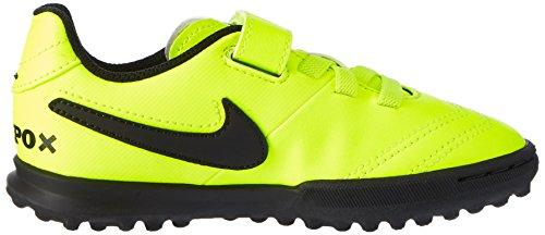 Nike Tiempox Rio Iii (V) Tf, Zapatillas de Fútbol Unisex Niños Amarillo (Vert Volt/black-vert Volt)