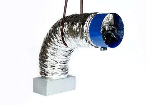 Insulation Fan Motor (QA-4800(R2) Whole House Fan | Includes 2-Speed Wireless Remote Control | 3396 CFM (HVI-916) | for Homes Upto 2600 sqft | 10-Year Fan Motor Warranty | Quiet Cool Operation | Offered by QA-Deluxe Fans)