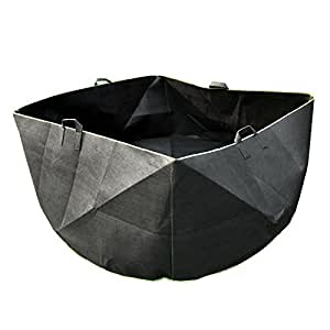 Mophorn Grow Bags 500 Gallon Garden Planting Bags Aeration Fabric Grow Pots With 4 Handles (500 Gallon)
