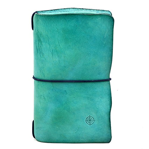 old-trend-leather-clutch-nomad-organizer-wallet-aqua