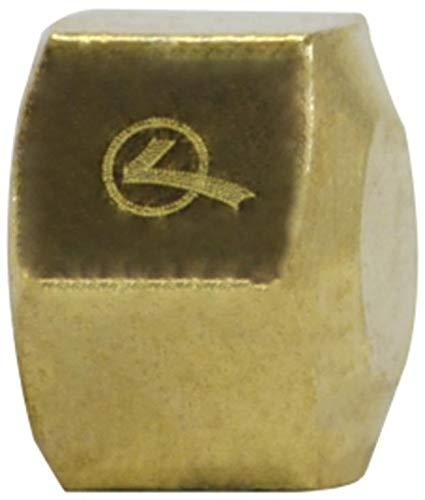 1//4 Size Midland 18-047LF Lead Free Brass Compression Cap