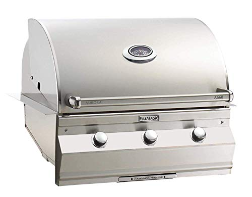 Fire Magic Aurora A660i 30-inch Built-in Propane Gas Grill With One Infrared Burner And Analog Thermometer - A660i-5lap