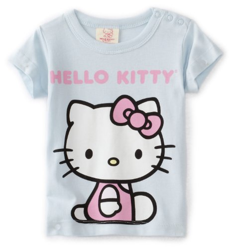 Hello Kitty Organics Baby Girls' Short Sleeve Snap T-Shirt