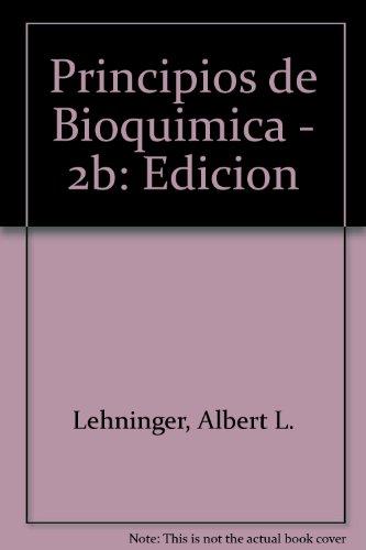 *PRINCIPIOS DE BIOQUIMICA: PRINCIP.BIOCHEMISTRY