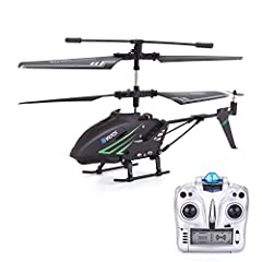 Durable RC Helicopter Vatos S880 is made with a high quality metal body frame, which has proven to withstand dozens of crashes. Super durable rc helicopter. Just enjoy the fun of playing with S880. Easy to control Built-in great Gyro technolo...
