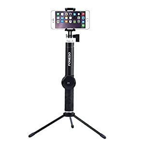 selfie stick foneso extendable monopod with bluetooth remote and tripod stand for. Black Bedroom Furniture Sets. Home Design Ideas