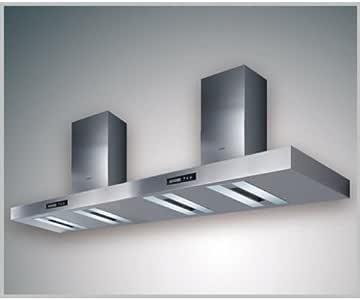 Gutmann pared Campana luminante de doble 697 W a/Externo 1800 mm Acero Inoxidable: Amazon.es: Juguetes y juegos