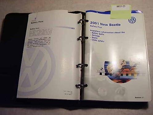 2001 volkswagen new beetle owners manual volkswagen amazon com books rh amazon com 2000 volkswagen beetle owners manual download 2001 vw beetle owners manual