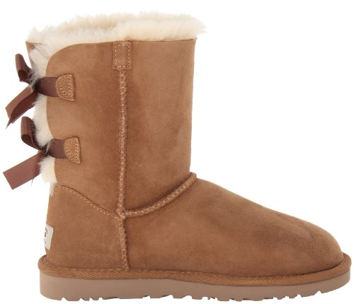 Chestnut W donna Bailey Bow Stivali UGG XvqU8wC