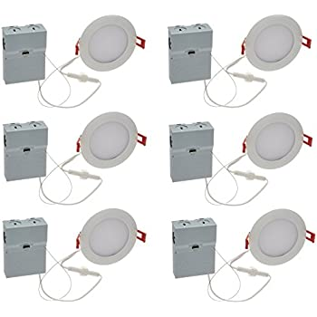 Lithonia lighting wf6 ll led 27k mw m6 ultra thin dimmable led lithonia lighting pack of 6 96w ultra thin 4 dimmable recessed ceiling aloadofball Gallery