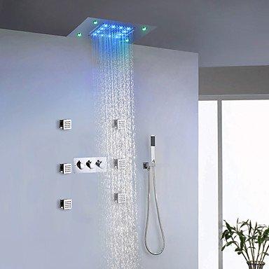 Moderne Led Duschsystem Spray Regendusche Handdusche Inklusive