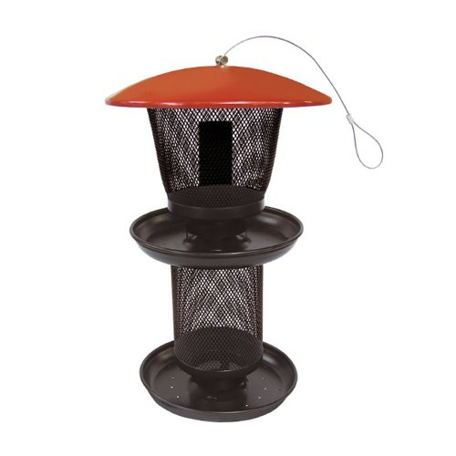 No/No Multi Seed Feeder, Red and Black  RBMS00341, My Pet Supplies