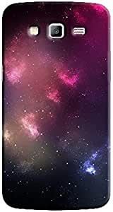 Cover It Up - Pink Purple Star Cloud Samsung Galaxy Grand 2 G7106 Hard Case