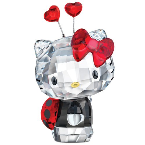 Swarovski Hello Kitty Ladybug Figurine by Swarovski
