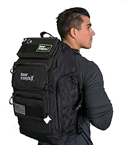 52caf82e0ad Bear KompleX Military Grade 3 Day Tactical Rucksack, Multi-use Bug Out Bag  Great