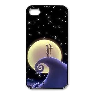 iphone4 4s phone case Black for nightmare before christmas - EERT3408381