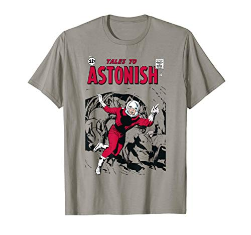 Marvel Ant-Man Classic Retro Tonal Comic Cover T-Shirt