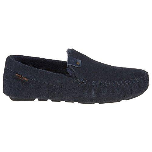 Simon Carter Hond Heren Slippers Blauw