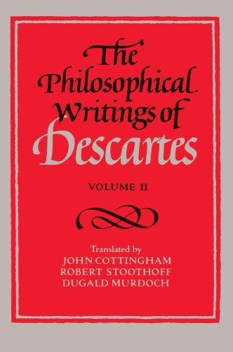 Philosoph.Writings Of Descartes,V.Ii