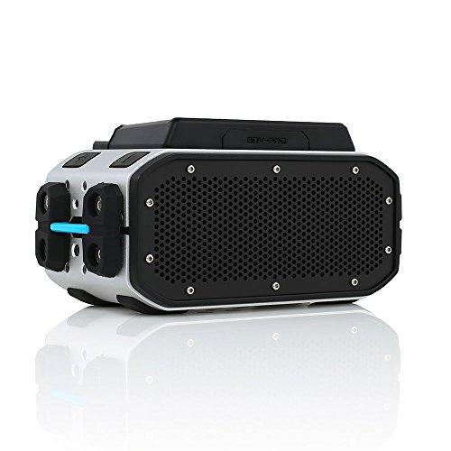 Braven BRV-PRO+POWER Bluetooth Speaker - Silver/Black