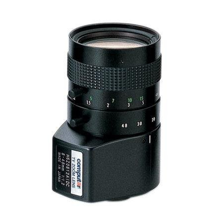 Computar H6Z0812AIDC 1/2-inch 8-48mm f1.2 6X Manual Zoom, DC Auto Iris w/4-pin mini connector (C Mount) ()