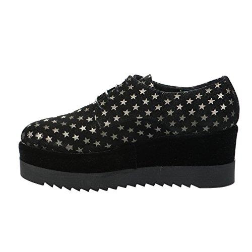 Noir Noir Miglio Lacets Chaussures à Femme fq6IB