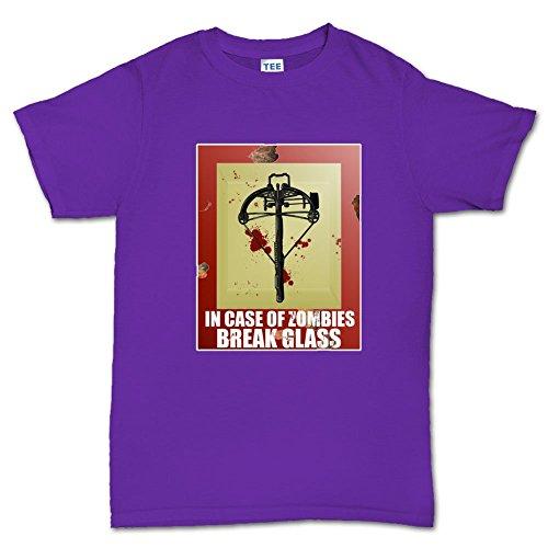 Zombie Killer Crossbow Walking Dead T Shirt (Tee) 5XL Purple