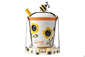 Joie MSC Mini Honey Pot and Dipper Kitchen Serving Bee Design Home Gift
