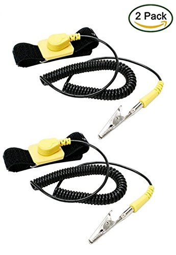 imbapricer-pack-of-2-anti-static-adjustable-grounding-wrist-strap-components-black-yellow