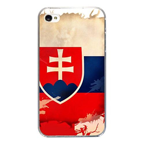 "Disagu Design Case Coque pour Apple iPhone 4 Housse etui coque pochette ""Slowakei"""
