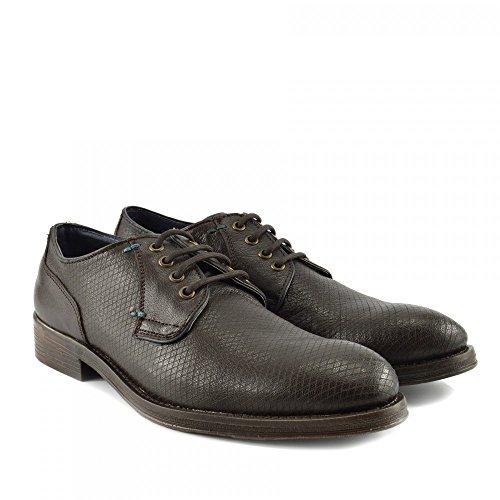 Kick Footwear - Zapatos Planos con Cordones Hombre marrón