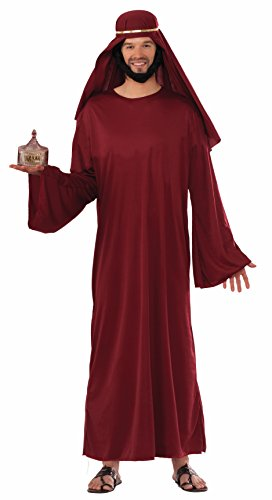 Forum Novelties Men's Forum Value Biblical Robe, Burgundy -