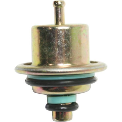 Jeep Fuel Pressure Regulator - Evan-Fischer EVA21632141839 Fuel Pressure Regulator for Cherokee 91-96 Straight Nipple Orientation