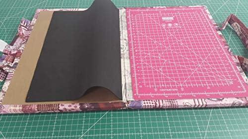 Kit de viaje patchwork con Base de corte de 24x32 cm (en centímetros y en pulgadas): Amazon.es: Electrónica