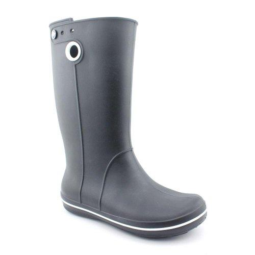 Crocs Women Crocband Jaunt Rain Boots Black