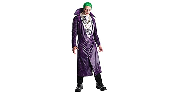 Amazon.com: Mens Halloween Costume- Suicide Squad Joker ...