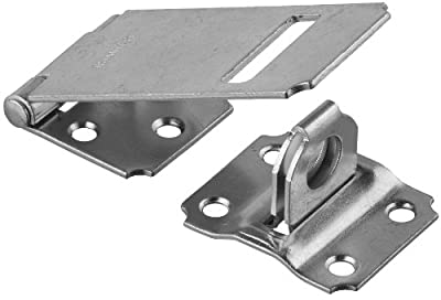 "Stanley Hardware 915 3-1/4"" Zinc Plated Safety Hasp"