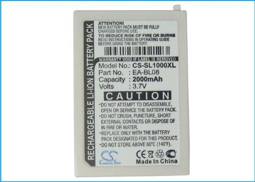 KML Battery for Sharp Zaurus SL-C1000 SL-C3000