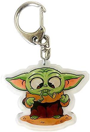 Baby Yoda マンダロリアンキーチェーン