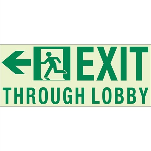 Unframed Exit Signs - 9
