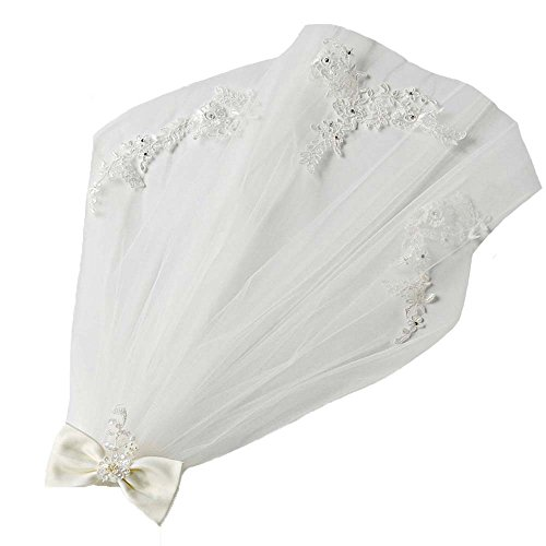 Ivory First Communion Veil - 3