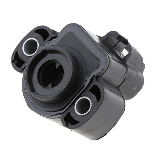 Shiwaki Black New and International Throttle Position Sensor For For Jeep Dodge Throttle Position Control Sensor: