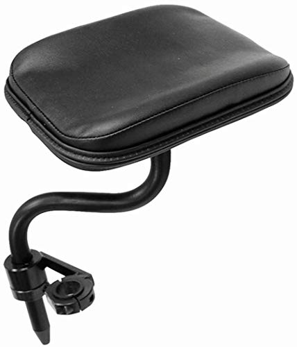 The Aftermarket Group Wheelchair Amputee Support, Multi Axis, Black Upholstered, Fits 7/8