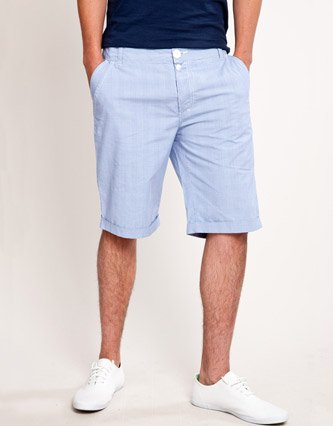 Fabric Gates Smart Shorts - Light blue - Mens - 38: Amazon.co.uk ...