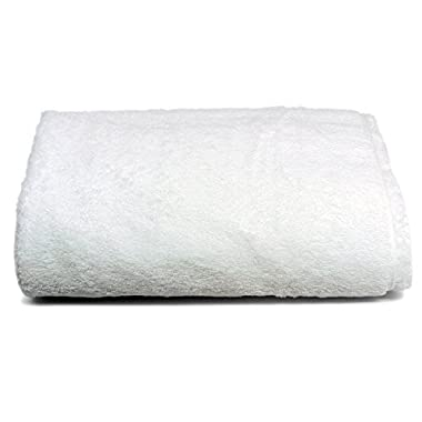 Luxury Bath Sheet, Egyptian Cotton, White, Ultra Soft & Absorbent (40 By 72 Inches), Don't Settle For Typical Hotel or Spa Towel's, Demand The Balance of Winter Park Towel Co.