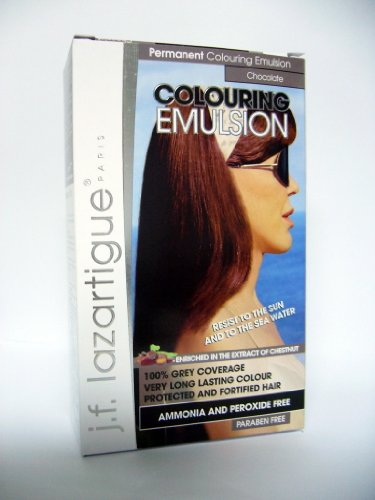 amazoncom jf lazartigue color emulsion chocolate chemical hair dyes beauty - Lazartigue Emulsion Colorante