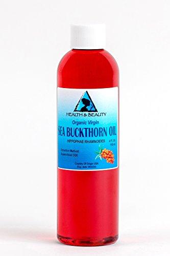 Sea Buckthorn Oil Organic Unrefined Virgin Supercritical CO2 Extracted Pure 4 oz (Sea Buckthorn Fruit Oil compare prices)